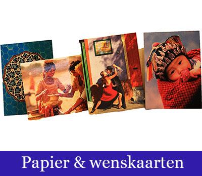 papier en wenskaarten